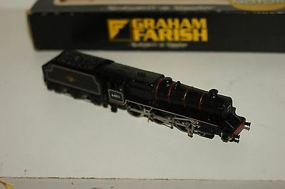 N gauge EXCELLENT Graham Farish Black 5 in BR black 44911 with NEW CHASSIS
