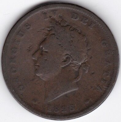 1826 George IV Penny***Collectors***Copper***