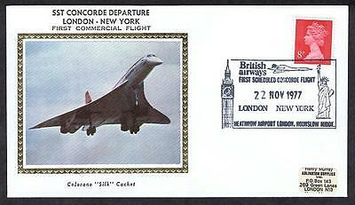 SST Concorde November 22 1977 First Commercial Flight London to New York