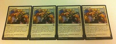 4 x MTG Card - BUILT TO LAST - Kaladesh - NEW