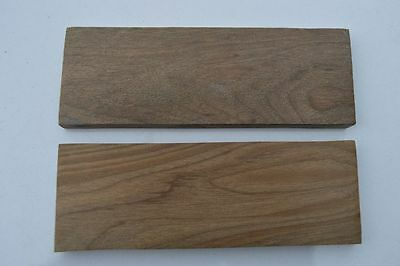 Set Of Walnut Wood Scales For Knife, Axe Razor, Tool Making Walnut Wood 1663