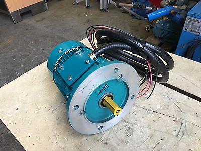 Brook Crompton 3 Phase 230V To 480V Electric Motor 1.1Kw 1.5Hp