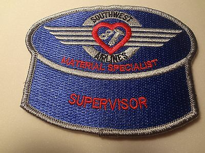"""Southwest Airlines Aircraft Appearance Technician Emb.  Patch- 1.5 X 4""""-B59"""
