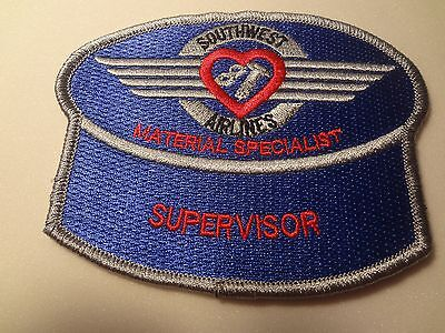 "Southwest Airlines Aircraft Appearance Technician Emb.  Patch- 1.5 X 4"" (1594)"