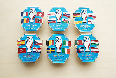 HOT SALE -50% Exclusive Pin EURO2016 France Euro 2016 All Group A B C D E F