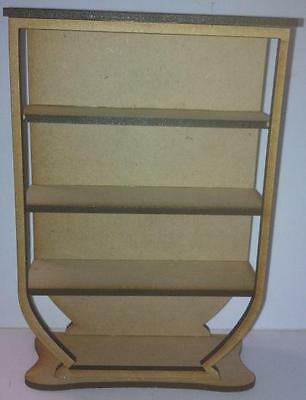 1:12 Scale Art Deco Shelf Unit Kit