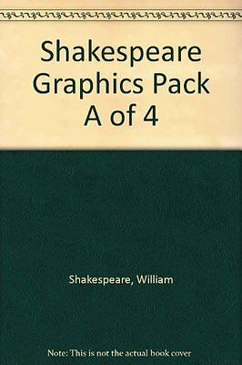 Shakespeare Graphics Pack A of 4 by William Shakespeare New Paperback Book