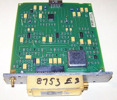 Agilent 5087-7000 Sampler and  board for 8753ES series network analyzer Parts.