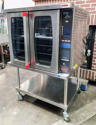 Lang Ecsf-Ez Full-Size Chefseries Electric Convection Oven On Rolling Stand