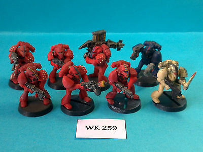 Warhammer 40K - Space Marines - Rogue Trader Marines x8 - WK259