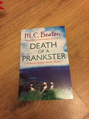Death of a Prankster by M. C. Beaton (Paperback, 2013) New Book