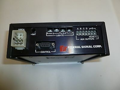 One Federal Signal SS2000 Smart Siren for GE Ericsson Orion Two Way Radios