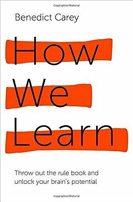 How We Learn by Carey  Benedict Paperback New  Book