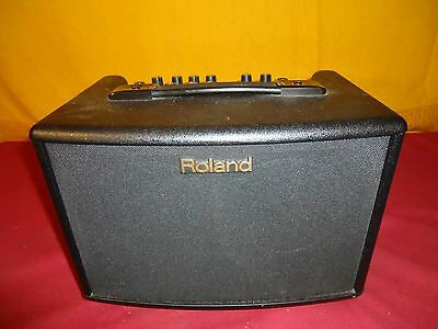 Clean Used Roland AC 33 Acoustic Guitar Chorus Combo Amplifier Xlnt Condition!