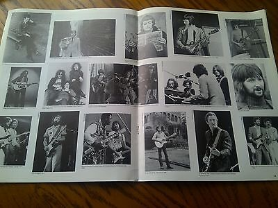 Eric Clapton Career 1963-87 Spread over Double Pages from Large Book 50 x 32cm