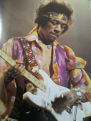 2 x Jimi Hendrix Images 29 x 20cm Ideal to Frame Double Sided