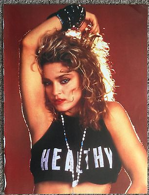 MADONNA - 1986 full page poster