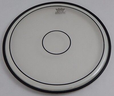 "NEW: Remo Powerstroke Clear with Dot Batter Style Drumhead DRUM HEAD 14"" Inch"