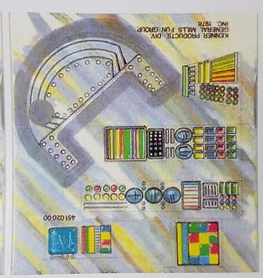 Replacement Sticker Label Sheet Vintage Star Wars Land Of The Jawas Escape Pod