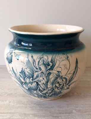 Late Victorian China Jardinière Plant Pot or Urn