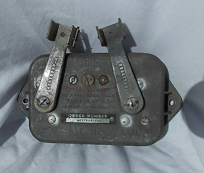 WW 2 US AAF B-17 Bomber Bomb Bay A-4 Weapons Release Control Assembly