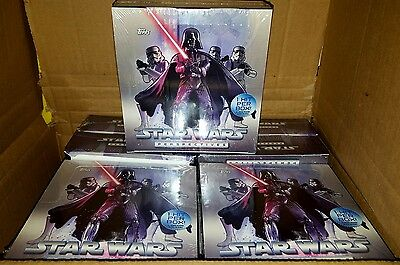 STAR WARS PERSPECTIVES CARDS FACTORY SEALED BOX {Limited Edition}