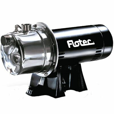 Flotec FP4822 - 11 GPM 3/4 HP Stainless Steel Shallow Well Jet Pump