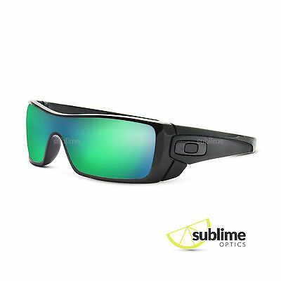 POLARIZED Metallic Emerald Green Replacement Lenses For Oakley Batwolf ~ Jade