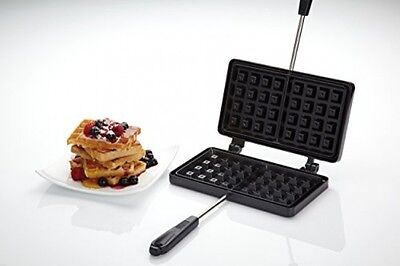 KitchenCraft Non-Stick Traditional Belgian Waffle Maker
