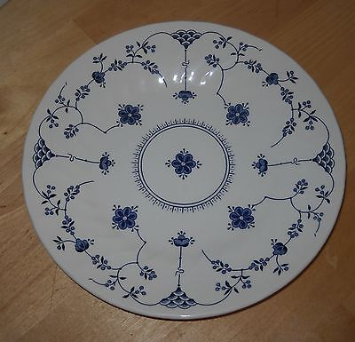 "Finlandia Blue made in England Churchill  8"" Salad Plate   100"