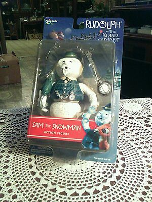 Rudolph And The Island Of Misfit Toys Sam The Snowman 2001 Action Figure.