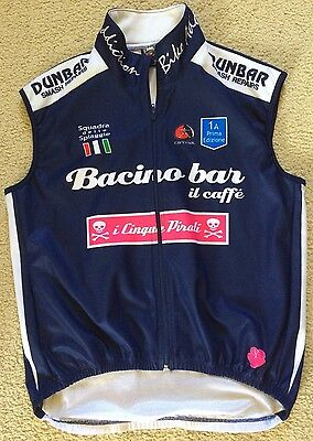 Cannibal Australia Cycling Wind Vest Top Mens Size L Polyester