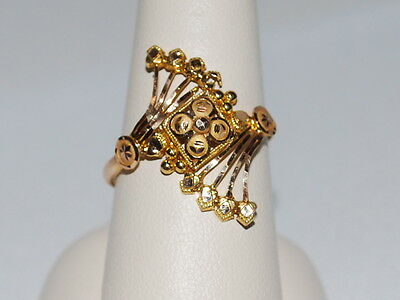 22K Gold ring with beautiful design
