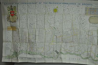 Map of the Improved Part of the Province of Pennsylvania in America B