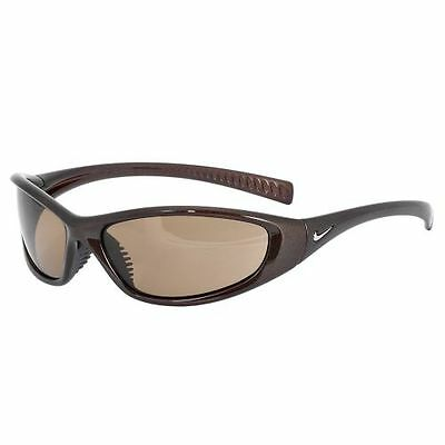 Nike Men's Sunglasses Tarj Sport EVO178 Brown Max Optics Lenses New wTag MSRP$80