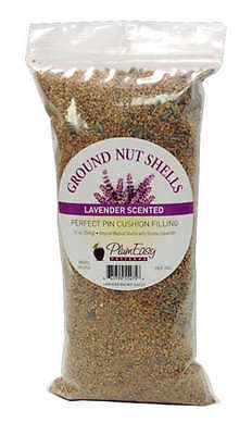 BAG OF GROUND WALNUT SHELLS SCENTED, Filler For Pincushions From PlumEasy NEW