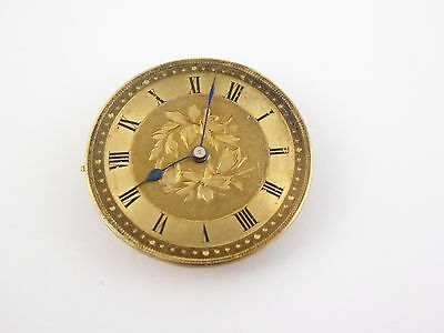 Antique Key Wound Mechanical Fob  Pocket Watch Movement LAYBY AVAILABLE
