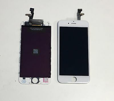 """New Genuine iPhone 6 4.7"""" LCD Screen Touch Digitizer Assembly Replacement White"""