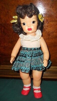 Terri Lee 1950's Brunette Doll Squaw Skirt and Blouse Tagged