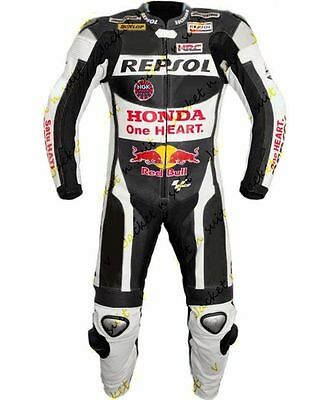Honda Motorbike Motorcycle  Leather racing 1 & 2 piece Suit tailor made