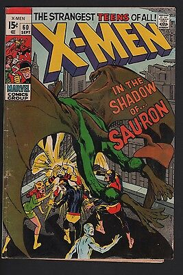 X-Men #60 G 2.0 Off White Pages NEAL ADAMS