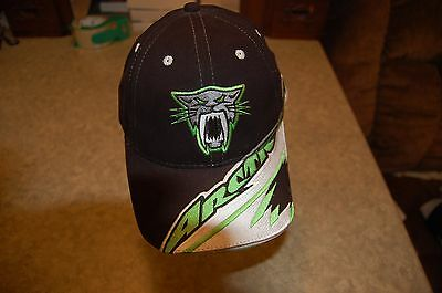 Arctic Cat baseball cap black green gray adjustable, Arcticwear, TeamArctic, euc