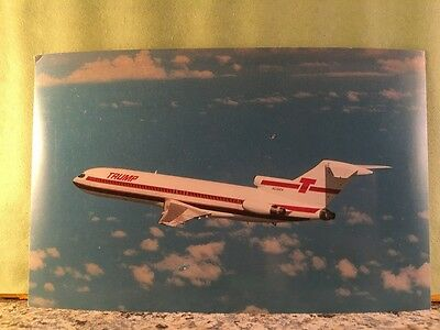 Postcard Trump Airlines, Boeing 727 Aircraft