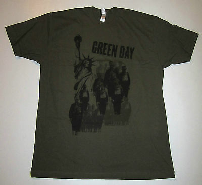 Green Day Gas Masks T-Shirt From 2006, Size X-Large,  Punk Rock
