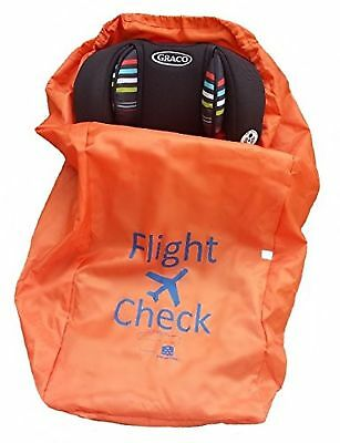 Alnoor USA Car Seat Travel Bag and Carrier for Gate Check with Travel Pouch -...