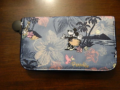 NWT LeSportsac Lily Wallet Disney Minnie Mouse Mickey $65 Vacation Paradise