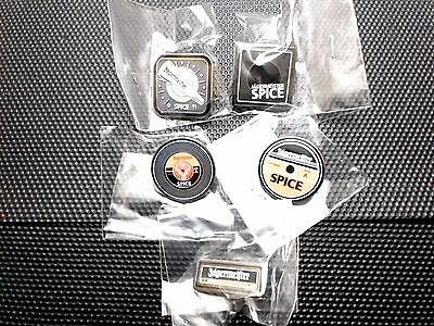 5 x JAGERMEISTER METAL BADGE NEW SEALED