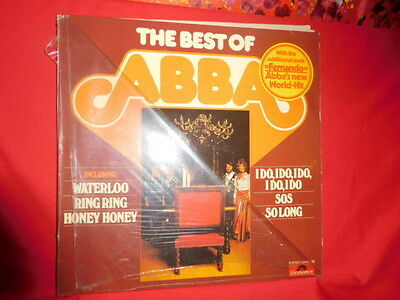ABBA The best of LP 1975 LP GERMANY EX+