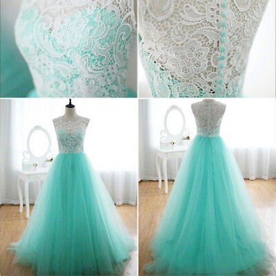 Women Wedding Bridesmaid Long Evening Party Prom Gown Cocktail Formal Dress New