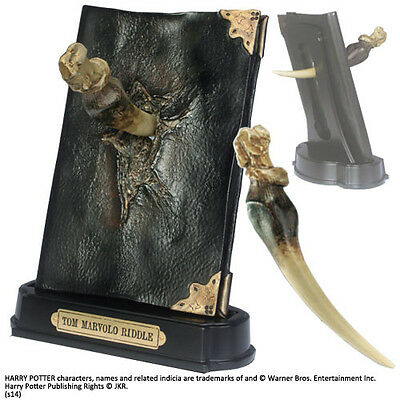 Harry Potter Replica 1/1 Basilisk Fang and Tom Riddle Diary By Noble Collection